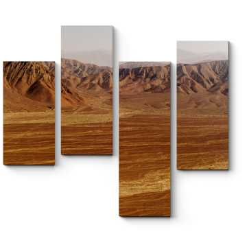 Модульная картина Горы в пустыне