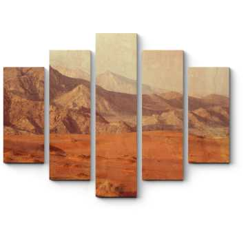 Модульная картина Безмятежные горы
