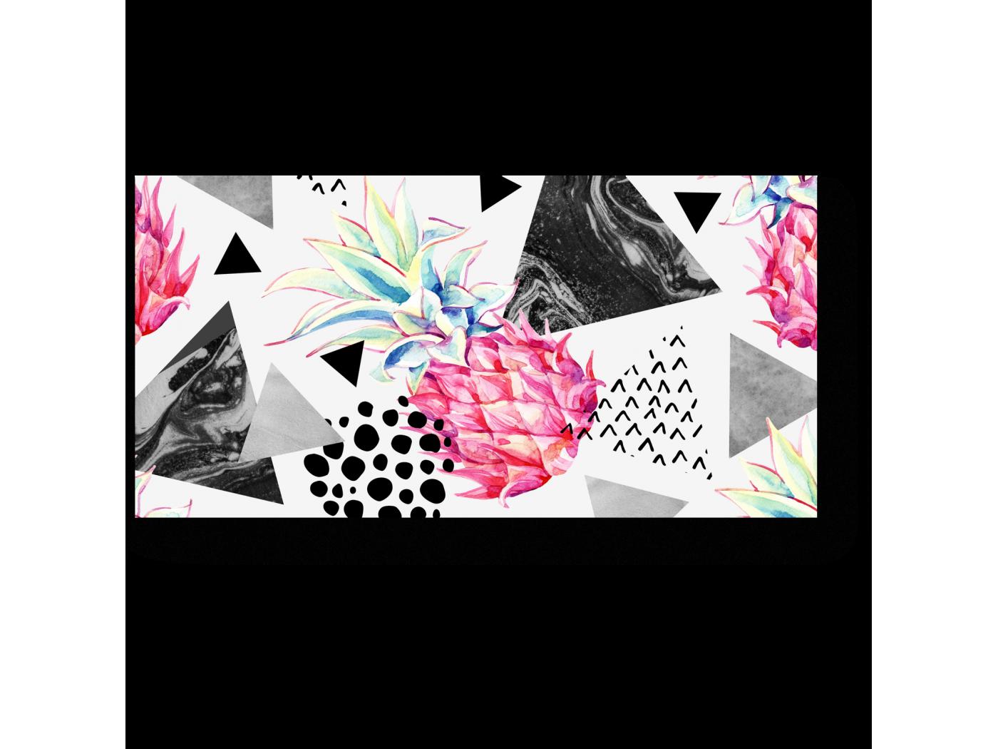 Модульная картина Ананасовая геометрия (40x20) фото