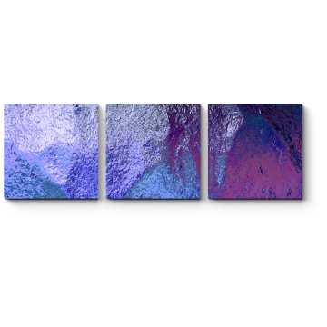 Модульная картина Текстура синего