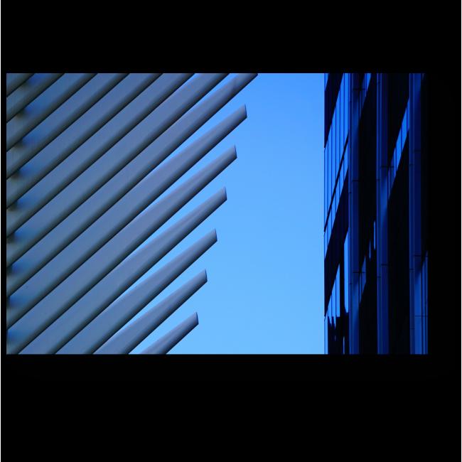 Модульная картина Противоречие линий