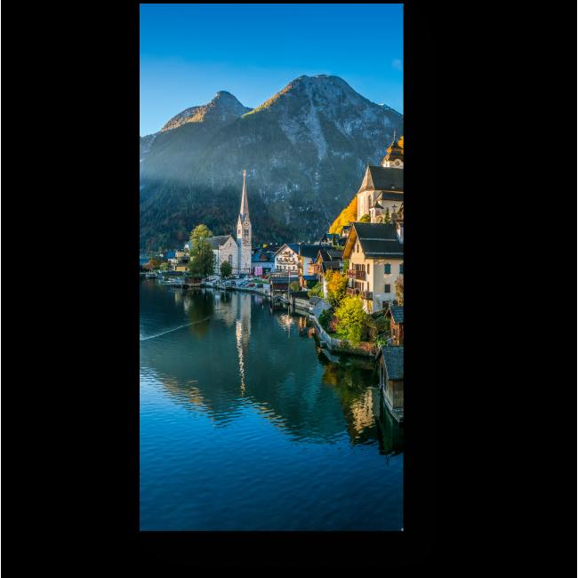 Модульная картина Австрийская деревушка