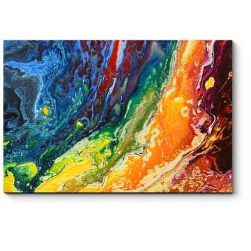 Ниспадающие потоки цвета