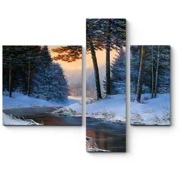 Холодная красота зимнего леса
