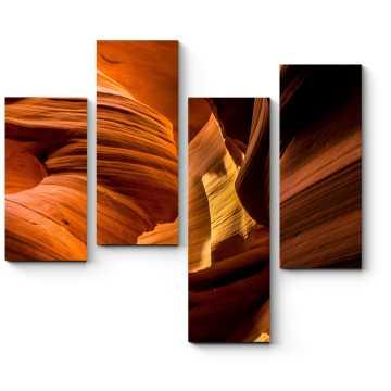 Прекрасные цвета каньона