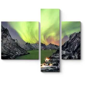 Модульная картина Краски северной природы