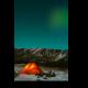 Палатка под северным небом