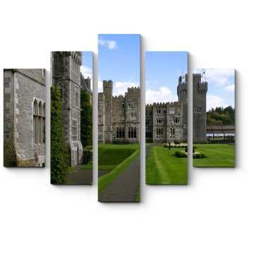 Средневековый замок в Ирландии