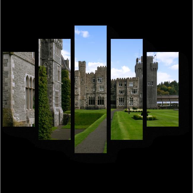 Модульная картина Средневековый замок в Ирландии