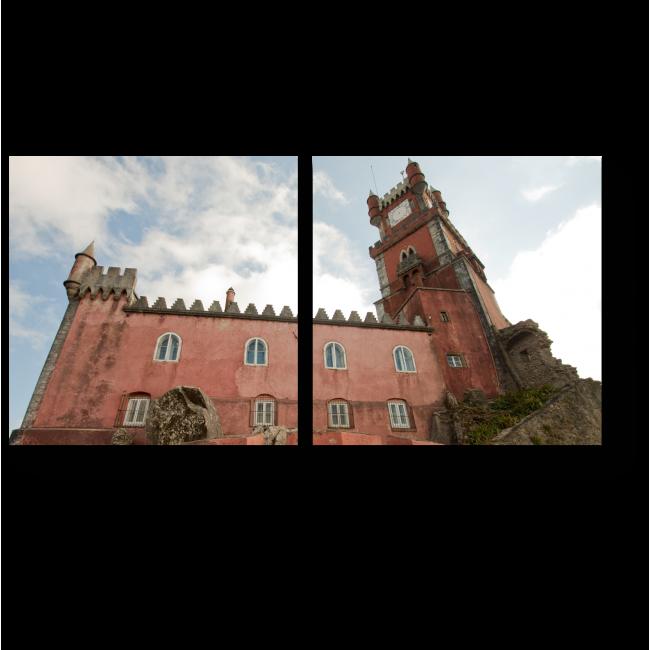 Модульная картина Национальный Дворец Пена