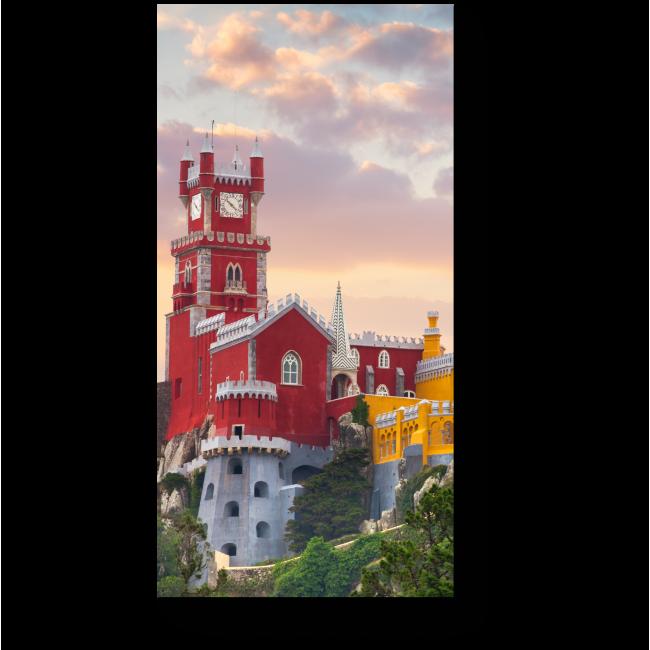 Модульная картина Национальный Дворец Пена в закате