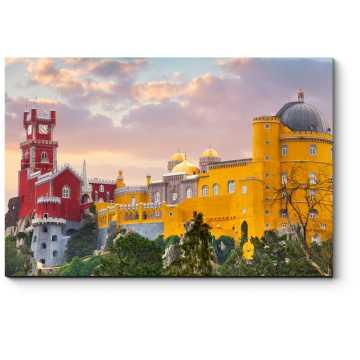 Национальный Дворец Пена в закате