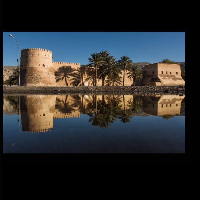 Модульная картина Замок Хасаб