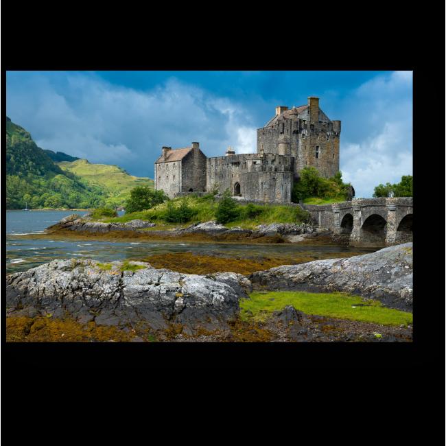 Модульная картина Замок Эйлен Донан в Шотландии