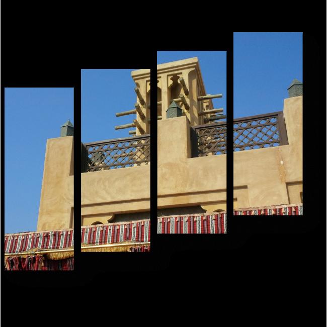 Модульная картина Арабская архитектура