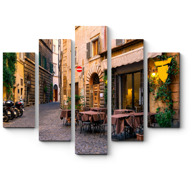 Модульная картина Открытка из Рима