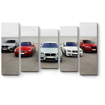Модульная картина Автомобили BMW