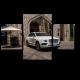 Роскошный белый автомобиль