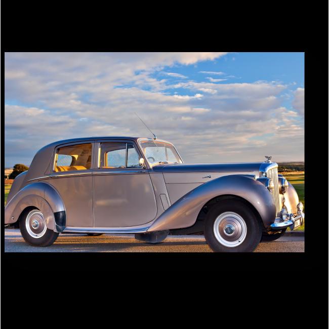 Модульная картина Bentley Mark VI