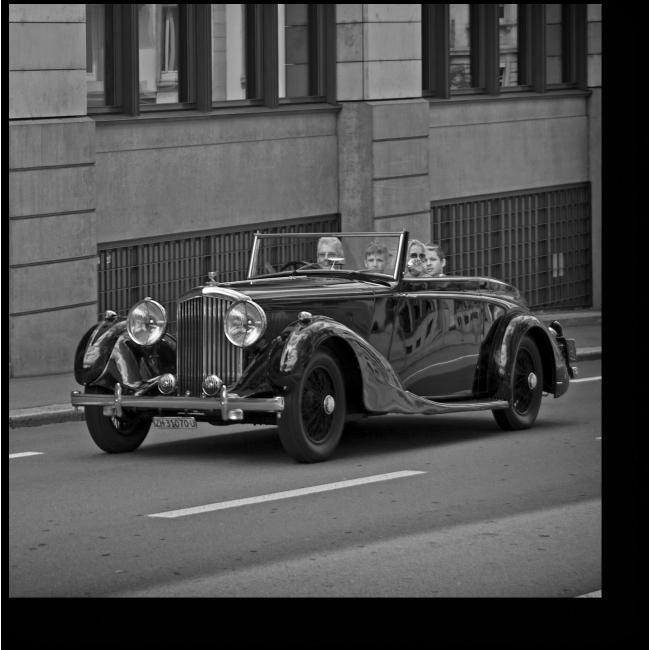 Модульная картина Bentley. 1936 год