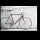 Старый ретро-велосипед