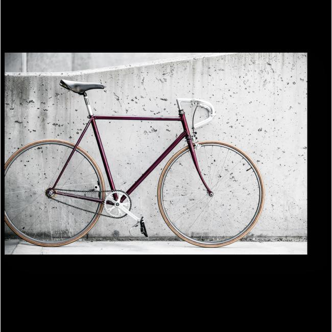 Модульная картина Старый ретро-велосипед