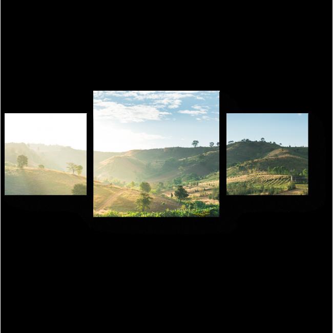 Модульная картина Природный ландшафт