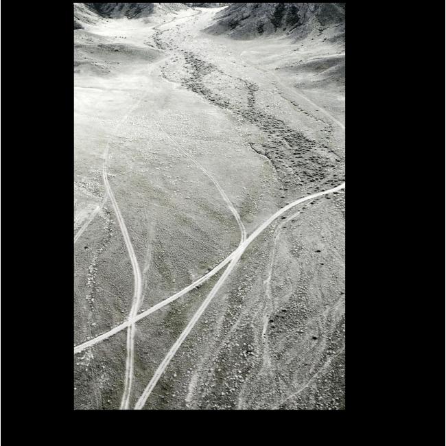 Модульная картина Вид на Тянь-Шань