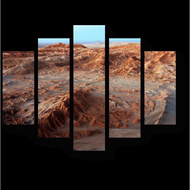 Модульная картина Бескрайний пейзаж