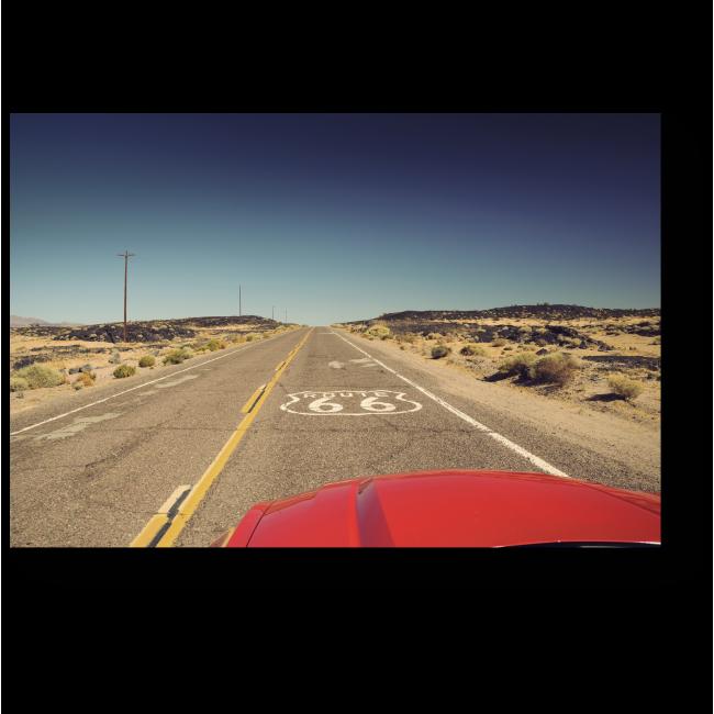 Модульная картина Знаменитое шоссе 66