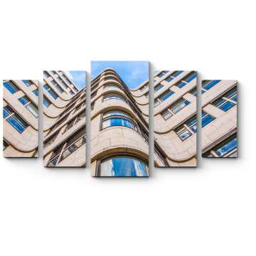 Модульная картина Здание Shell Haus aka Gasag