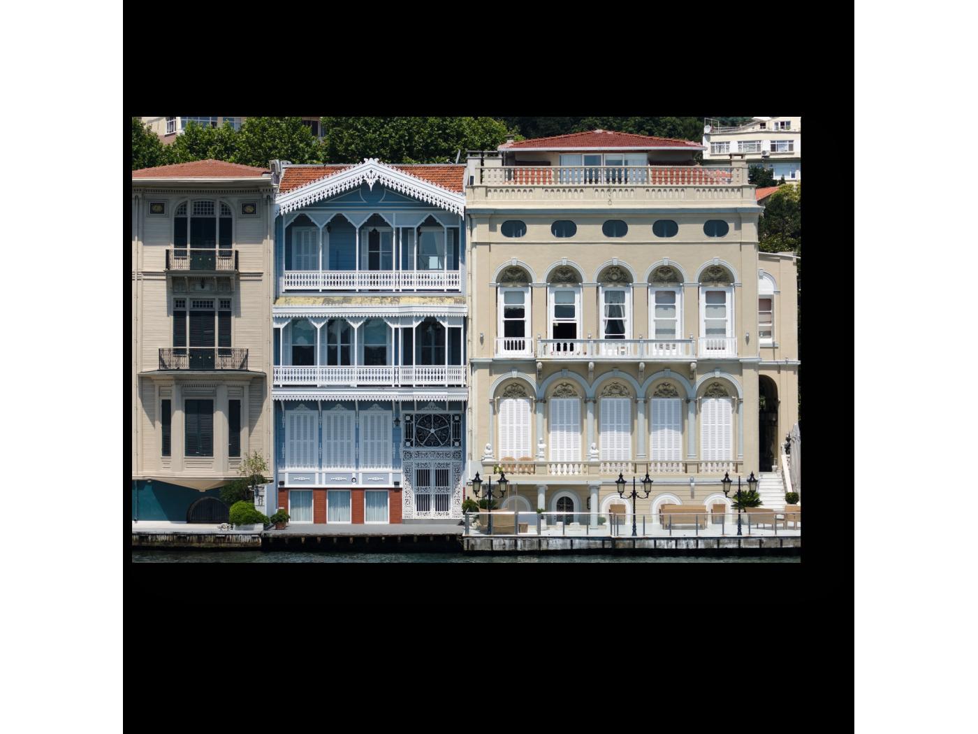 Модульная картина Старый дворец на набережной Босфора (30x20) фото