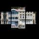 Старый дворец на набережной Босфора