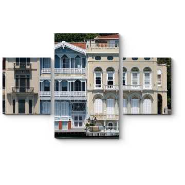 Модульная картина Старый дворец на набережной Босфора