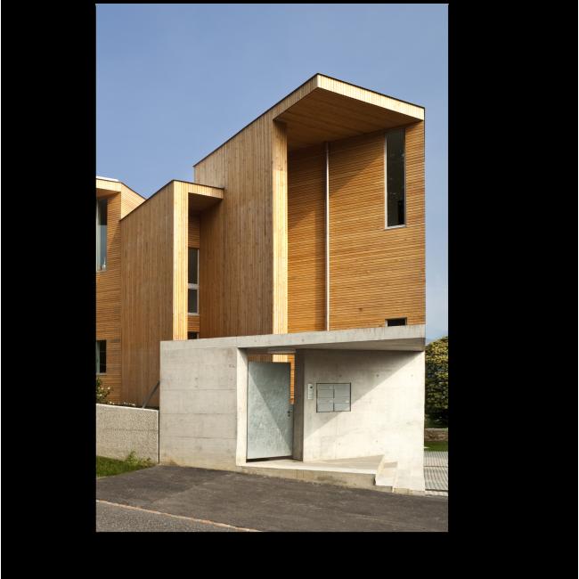 Модульная картина Экологический дом