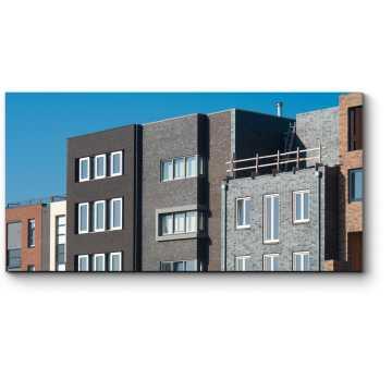 Модульная картина Современные дома