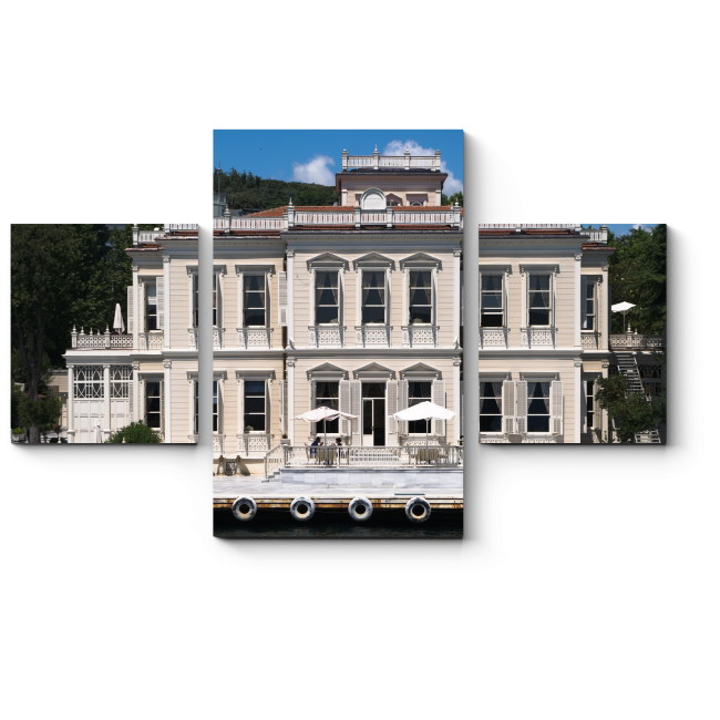 Модульная картина Старый дворец на берегу Босфора