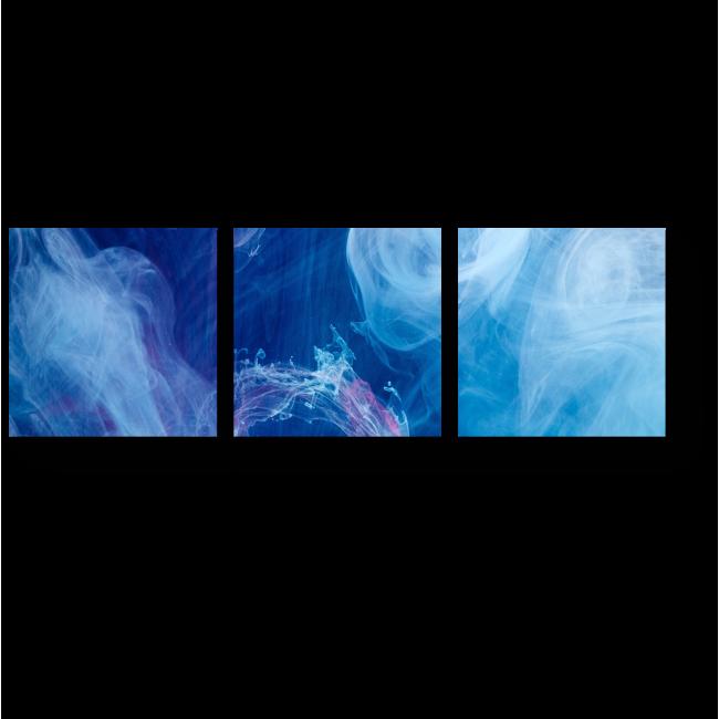 Модульная картина Туман сгущается