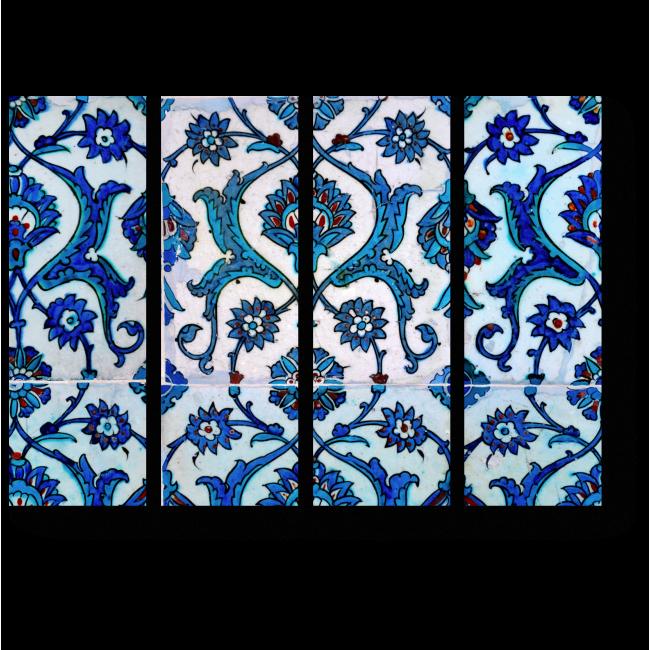 Модульная картина Арабский узор