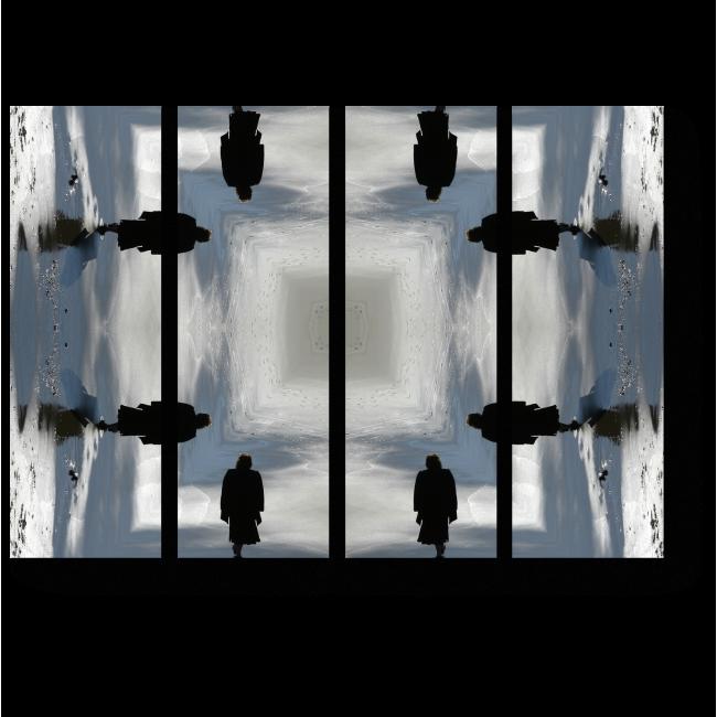 Модульная картина Обман зрения
