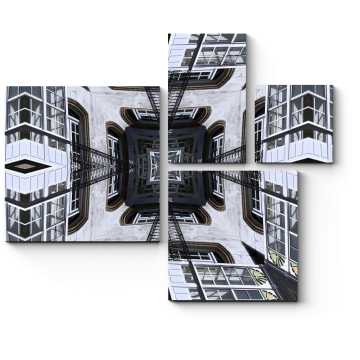Модульная картина Глубина пространства