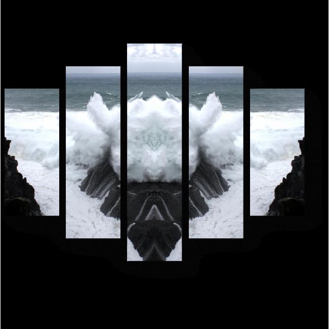 Модульная картина Идеальная симметрия