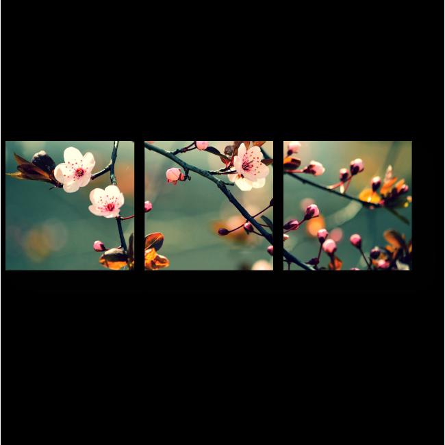 Модульная картина Предвестники весны