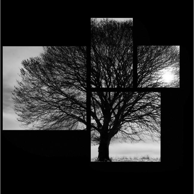 Модульная картина Древо жизни