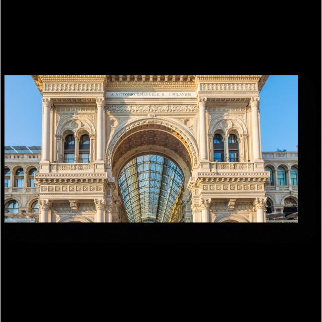 Модульная картина Галерея Виктора Эммануила, Милан