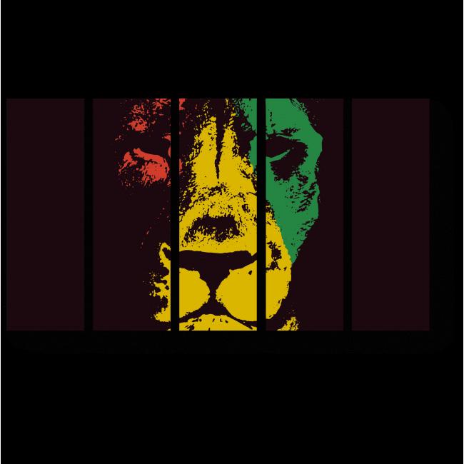 Модульная картина Африканский лев