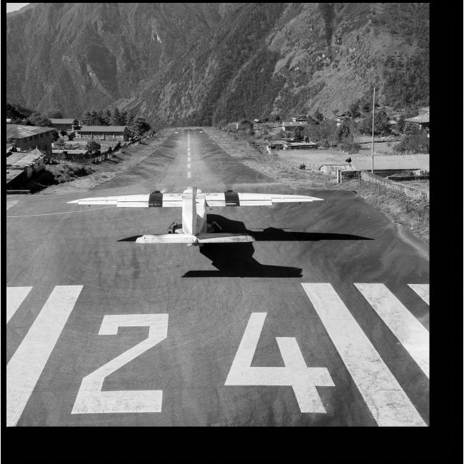 Модульная картина На взлетно-посадочной полосе