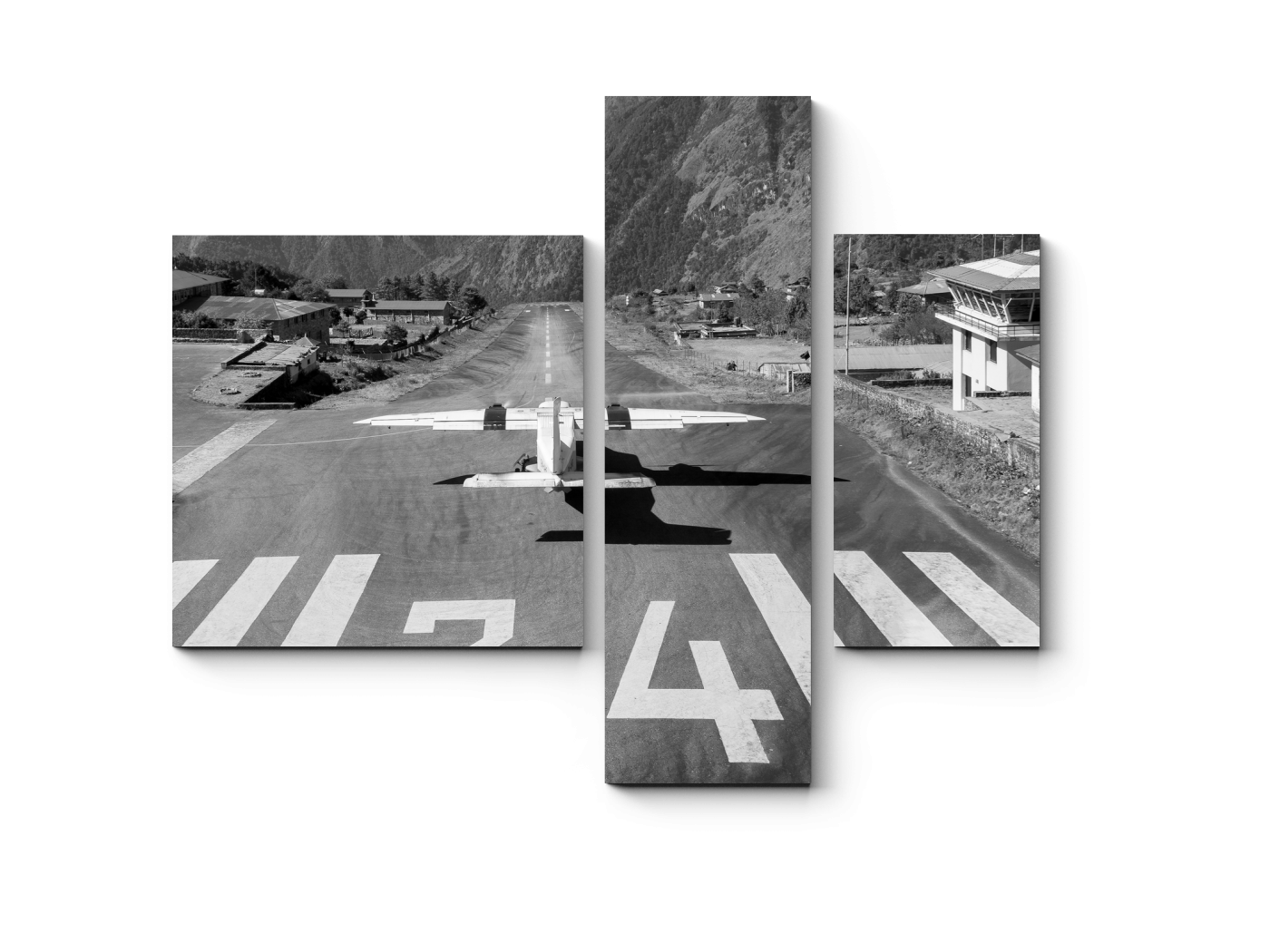Модульная картина На взлетно-посадочной полосе (80x66) фото