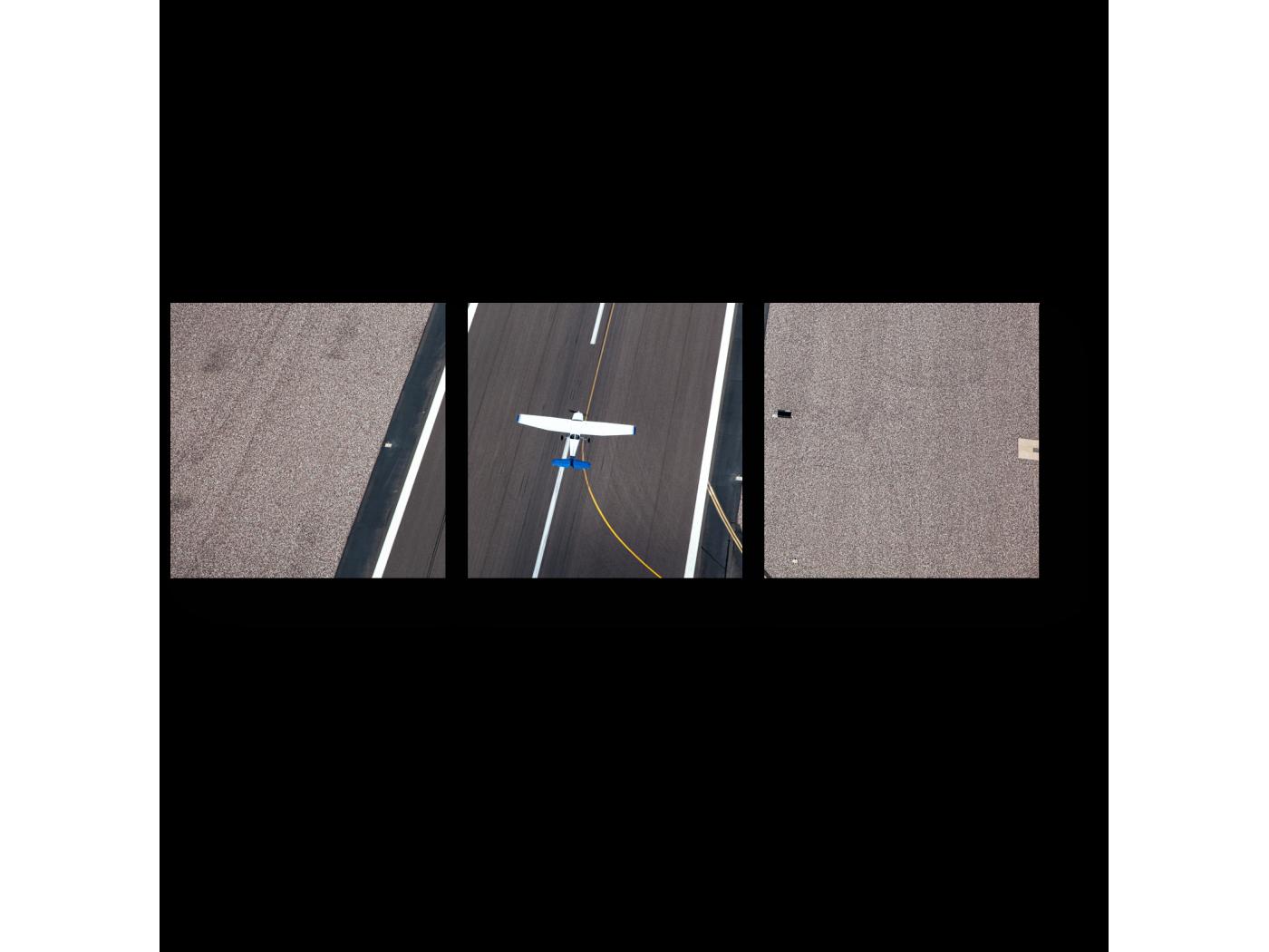 Модульная картина Взлет (60x20) фото