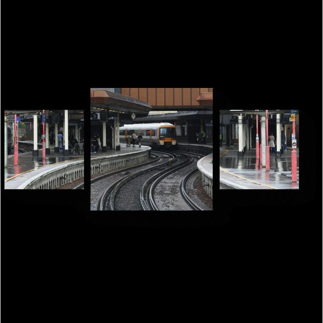 Модульная картина Платформы Лондонского моста